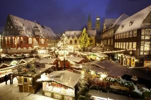 Weihnachtsmarkt am Abend, GOSLAR marketing gmbh