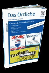 Unterwegs im Landkreis Goslar - die Buchausgabe der Harz-App