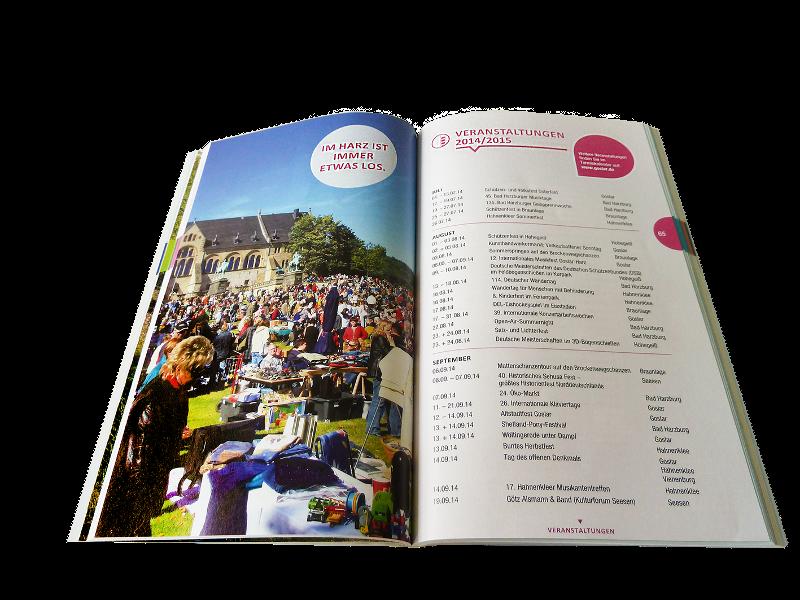Unterwegs in Goslar und Umgebung - die Buchausgabe der Harz-App