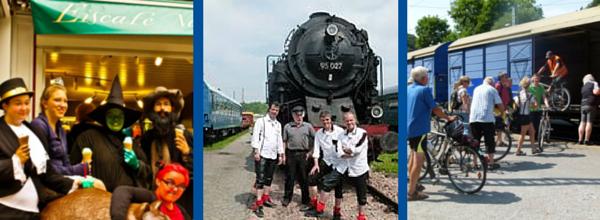Das Steinkohleeis, die Randichten und der Fahrrad-Express© Arbeitsgemeinschaft Rübelandbahn