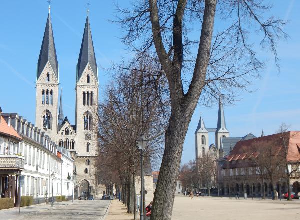 Dom mit Martinikirche in Halberstadt ©Katja Berndt