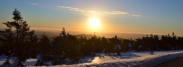 Der Sonnenaufgang am Brocken zählt zu Alinas tollsten Erinnerungen. © Alina Lipka
