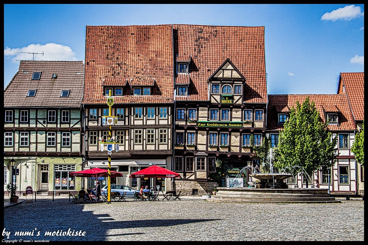 Die Stadt Quedlinburg sollte man gesehen haben ©Numi's Motivkiste