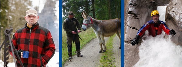 Jens Habich ist großer Fan von Natur, Tieren und natürlich Abenteuern ©Adrenalintours