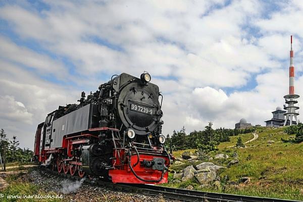 Die Brockenbahn ist ein Erlebnis für Groß und Klein ©www.harzluchs.de