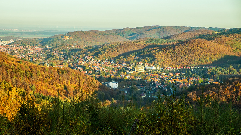 "Aussichtspunkt ""Wernigeröder Fenster"" ©Patrick König, Harzlandschaft.de"