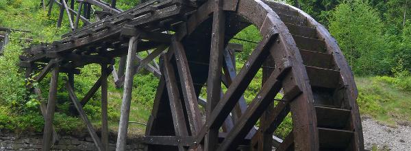 Wasserregal im Harz