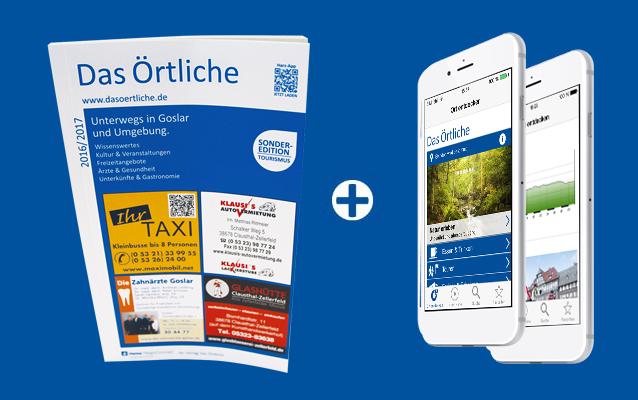 Montage Harz Reiseführer und App