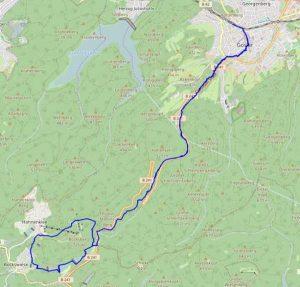 Wandertour Karte