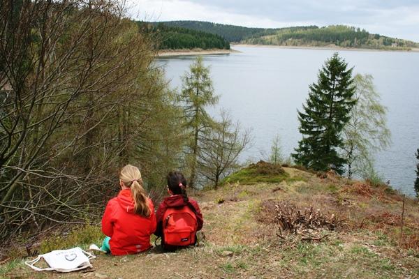 Picknick am Granestausee - Wandern mit Kindern