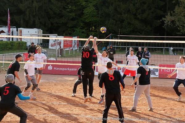 Hüttenröder Volleyballturnier