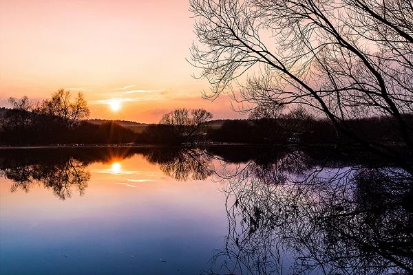 700 km Harz - Sonnenuntergang