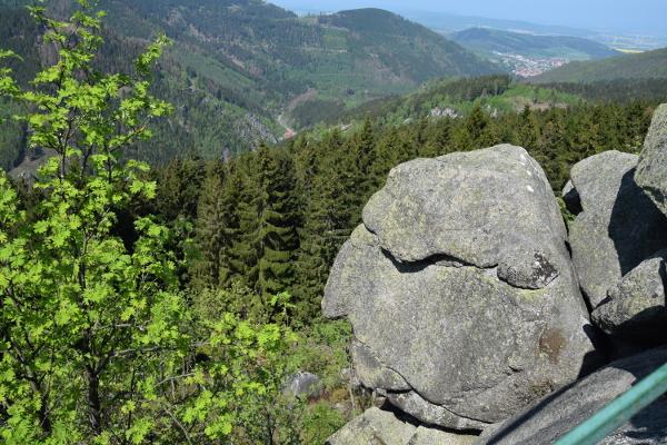 Felsformation Alter Mann vom Berge