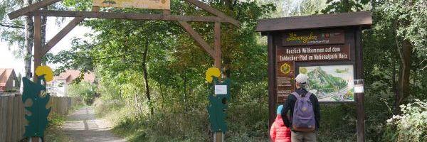 Eingang Löwenzahn-Entdeckerpfad
